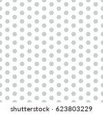 hexagon dot graphic pattern  | Shutterstock .eps vector #623803229