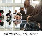 association alliance meeting... | Shutterstock . vector #623853437