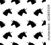 Unicorn. Seamless Pattern...