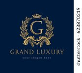 Grand Luxury Logo. Grand Luxur...