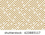 abstract geometric pattern with ... | Shutterstock .eps vector #623885117