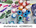 Small photo of Acrylic paint