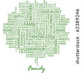 family. word collage on white... | Shutterstock .eps vector #62389246
