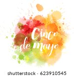cinco de mayo holiday abstract... | Shutterstock .eps vector #623910545