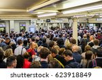 london  uk   may 29 2015  a lot ... | Shutterstock . vector #623918849