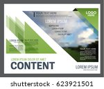 presentation layout design... | Shutterstock .eps vector #623921501