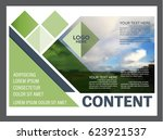 presentation layout design... | Shutterstock .eps vector #623921537
