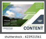 presentation layout design... | Shutterstock .eps vector #623921561