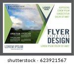presentation layout design... | Shutterstock .eps vector #623921567