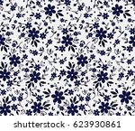 vector seamless pattern. cute... | Shutterstock .eps vector #623930861