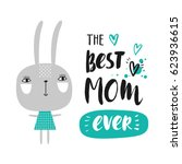 cute creative card template ... | Shutterstock .eps vector #623936615