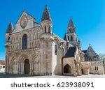 Church Notre-Dame-La-Grande in Poitier, France. Near the Futuroscope.