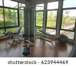 equipment and machines at the...   Shutterstock . vector #623944469