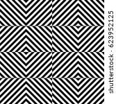 vector seamless pattern.... | Shutterstock .eps vector #623952125