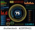 hud ui for business app....