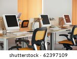 computers with lcd screens in... | Shutterstock . vector #62397109