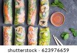 fresh assorted asian spring...   Shutterstock . vector #623976659