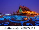 sirindhorn wararam phu prao... | Shutterstock . vector #623997191