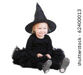 Halloween Little Witch Isolate...