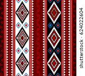 repetitive ethnic pattern from... | Shutterstock .eps vector #624022604