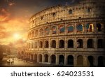 rome  italy.one of the most... | Shutterstock . vector #624023531