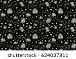 raster illustration. abstract... | Shutterstock . vector #624037811