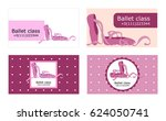 set of four designs of card... | Shutterstock .eps vector #624050741