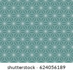 seamless cyan and white vintage ... | Shutterstock .eps vector #624056189