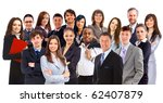 young attractive business... | Shutterstock . vector #62407879