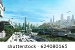 3d Rendering Scifi Lost City I...
