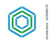 isolated vector icon logo... | Shutterstock .eps vector #624088115