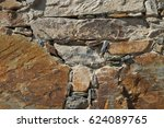 schist wall background texture... | Shutterstock . vector #624089765