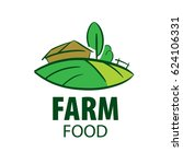 logo farm food | Shutterstock .eps vector #624106331