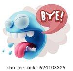 3d illustration character...   Shutterstock . vector #624108329