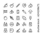 food line vector icons 11   Shutterstock .eps vector #624108671