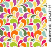 seamless pattern with colorful...   Shutterstock .eps vector #624169499
