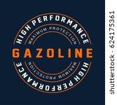 racing gasoline motor... | Shutterstock .eps vector #624175361