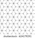 vector seamless pattern. modern ... | Shutterstock .eps vector #624179291