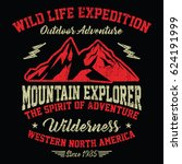 wild life expedition  outdoor...   Shutterstock .eps vector #624191999