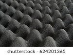close view of the peaks of foam ... | Shutterstock . vector #624201365