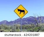 Donkey Or Burro Crossing...