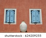 details of local architecture... | Shutterstock . vector #624209255