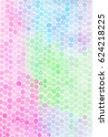 watercolor background with dots ... | Shutterstock . vector #624218225