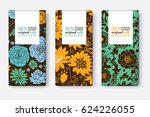 vector set of chocolate bar...   Shutterstock .eps vector #624226055