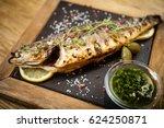 Fresh Sea Bass. Mediterranean...