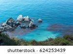 Pacific Ocean Along California...