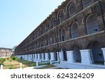 cellular jail in andaman and... | Shutterstock . vector #624324209