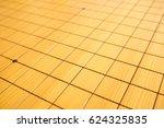 blnak go game chessboard... | Shutterstock . vector #624325835