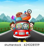 vector illustration of family... | Shutterstock .eps vector #624328559