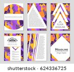 abstract vector layout... | Shutterstock .eps vector #624336725